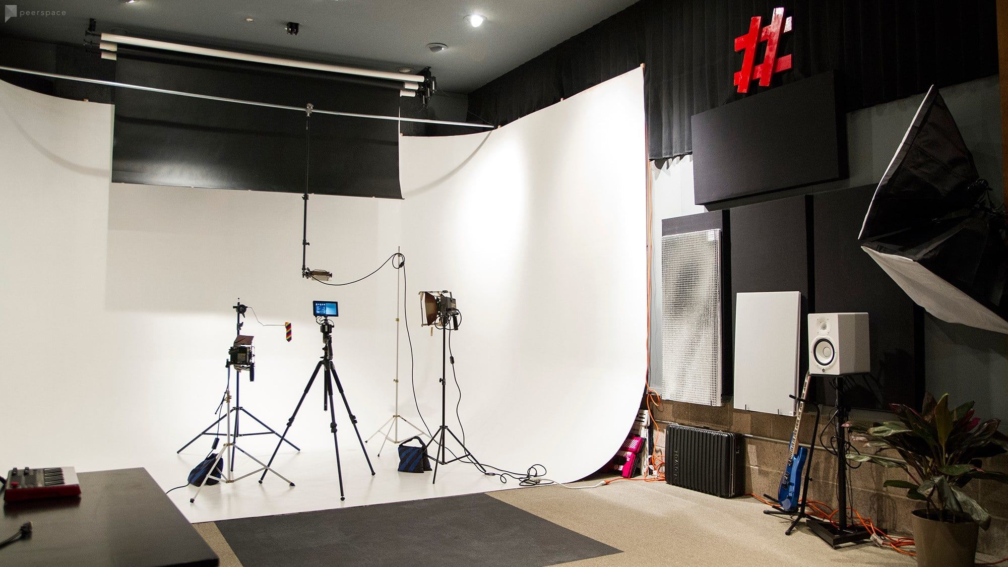 We Have Built Our Futuristic Three Walled White Cyclorama To Provide Photographers And Cinematographers With A New Creative Studio Ceiling Lights Unique Venues