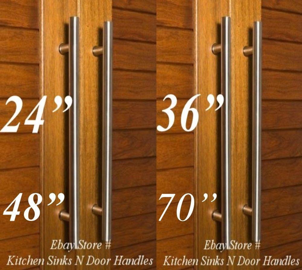 Entry Front Door Long Commercial Door Pull Handle Stainless Steel Entry Modern Door Handles Modern Entry Door Handles Door Pull Handles