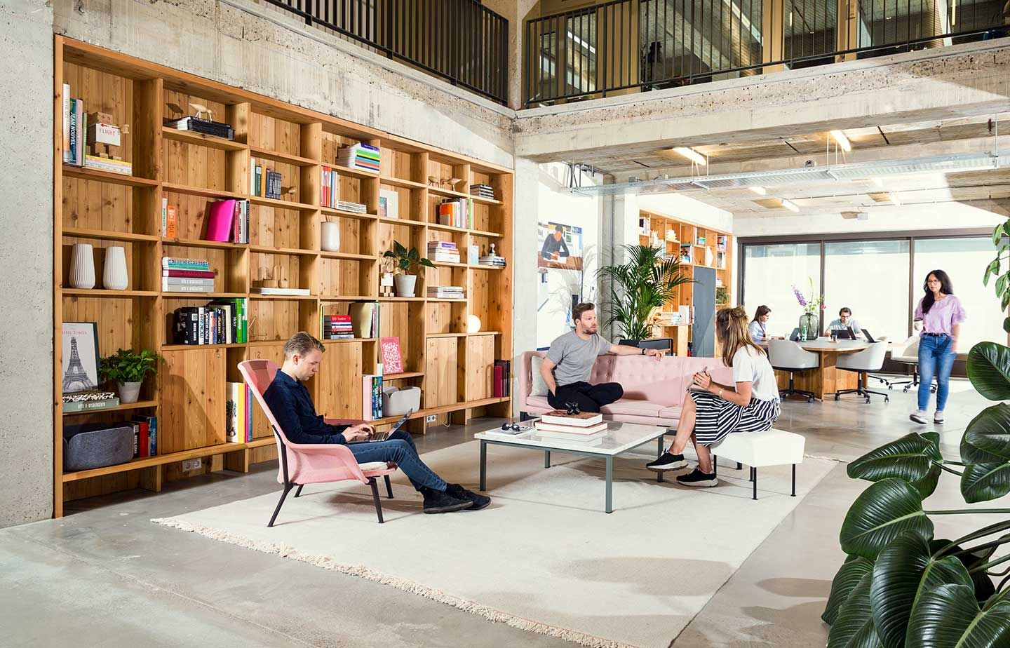 Spaces In Hong Kong Workspaces With Room For Thought In 2020 Coworking Space Design Coworking Office Space Office Space