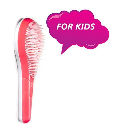 Michel Mercier Kids Detangling Brush Pink  For Normal Hair -- Check out this great product.
