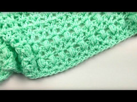 www.allfreecrochet.com Crochet-Videos One-Skein-Mini-Crochet-Blanket ...