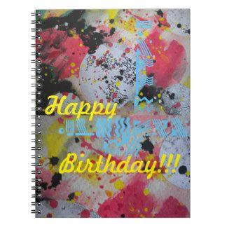 Sxisma Gauguin-Happy Birthday Notebook 1