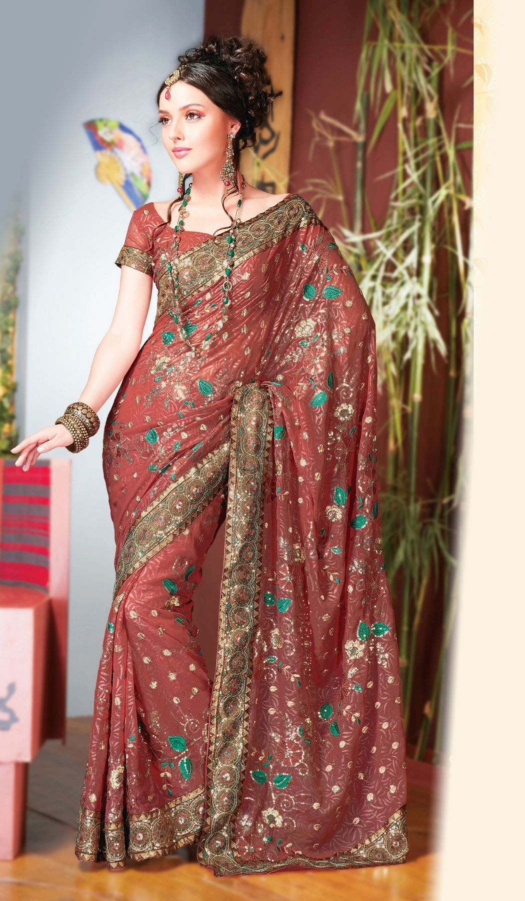 These Days S Get Really Enthralled And Excited About The New Range Of Sarees In Dominant Trend By Designers Ideals Our World Indian Wedding