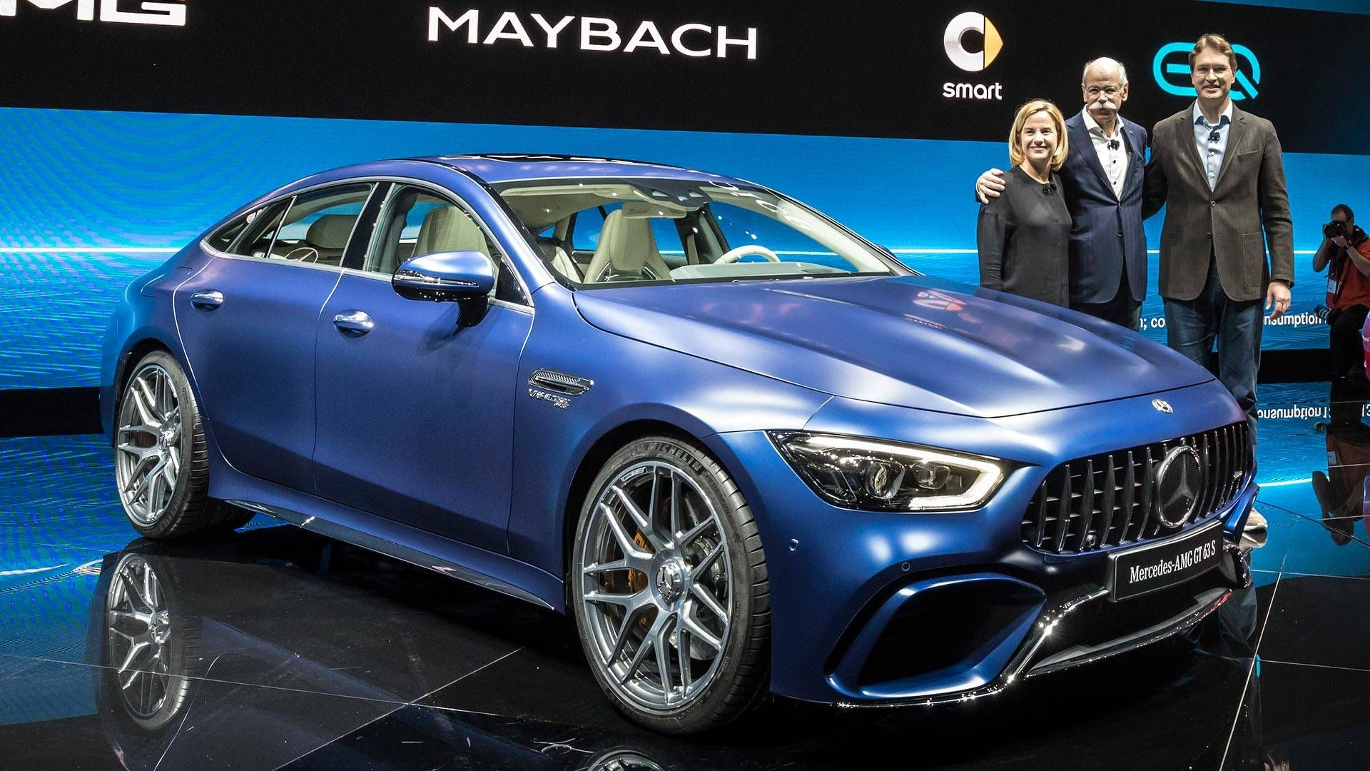 2019 Mercedes Amg Gt 4 Door Coupe Motor1 Com Photos Salon Geneve