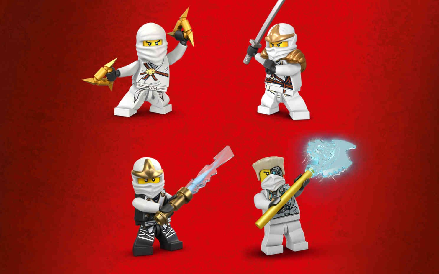 Zane personnages ninjago lego party - Personnage ninjago lego ...