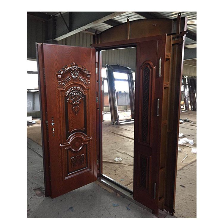 Metal Security Doors China Armored Villa Steel Glass Doors …