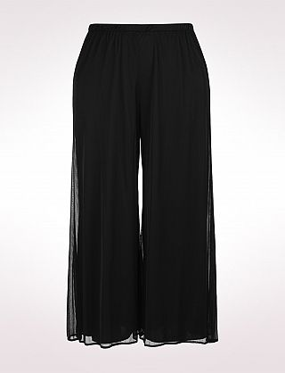 0762c28b3660a Plus Size Chiffon Palazzo Pants, Tall Length | Dressbarn | Not Naked ...