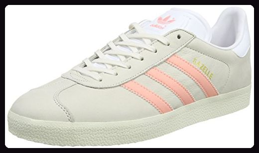 adidas Damen Gazelle Sneaker, Weiß (Chalk WhiteStill Breeze
