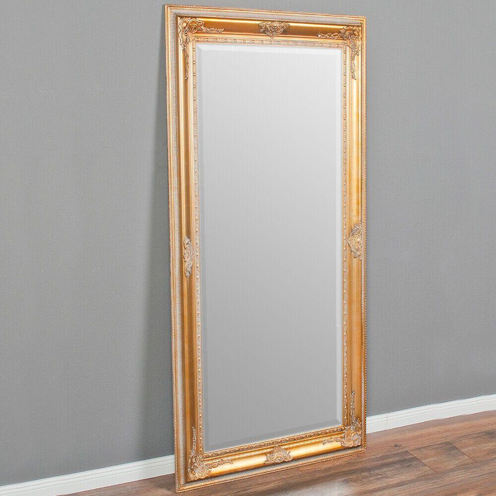 Spiegel EVE Antik-Gold 8x8cm Wandspiegel pompös barock
