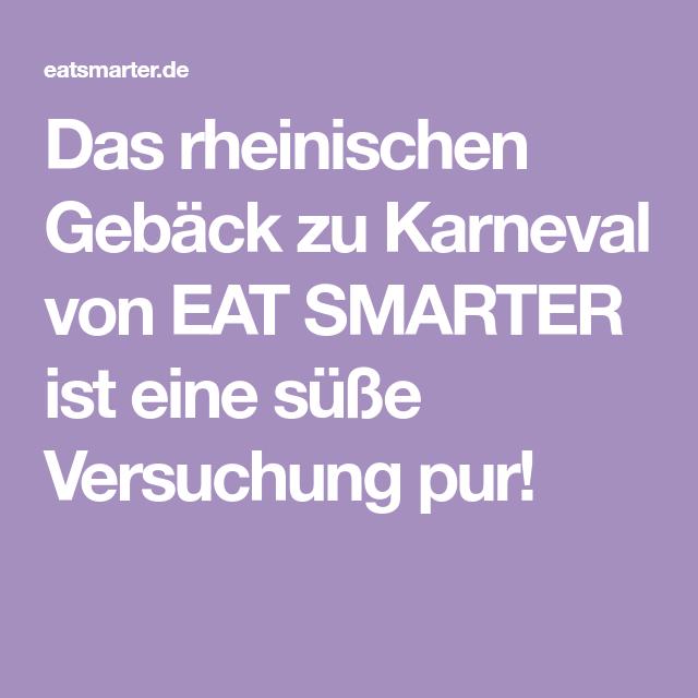 Rheinisches Gebäck zu Karneval  – Backen
