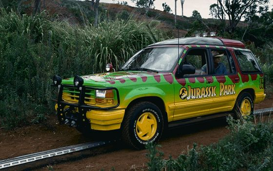 The 50 Best Movie Cars Jurassic Park Jeep Cars Movie Jurassic