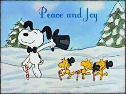Peace and joy. Snoopy d923993cbba17