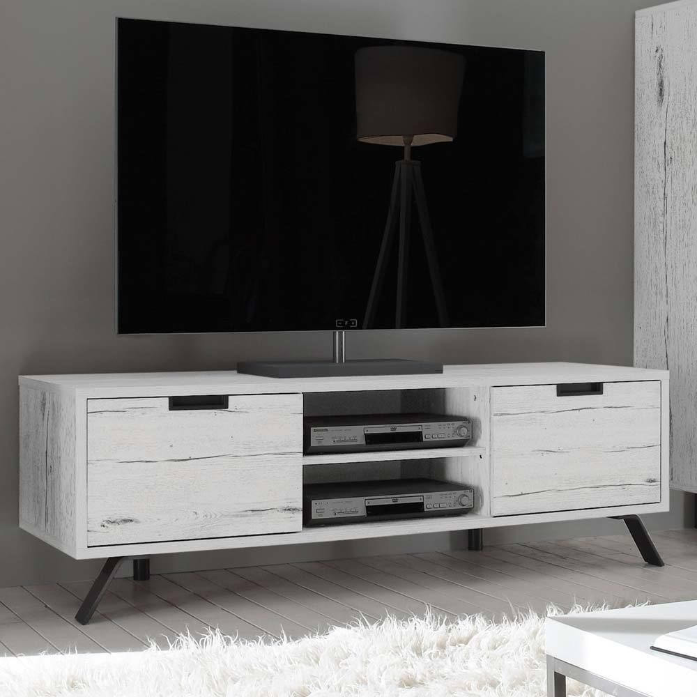 TV Lowboard In Weißeiche Modern Jetzt Bestellen Unter:  Https://moebel.ladendirekt.de/wohnzimmer/tv Hifi Moebel/tv Lowboards/?uidu003d93d03706 E4e7 5c00 Bc35   ...