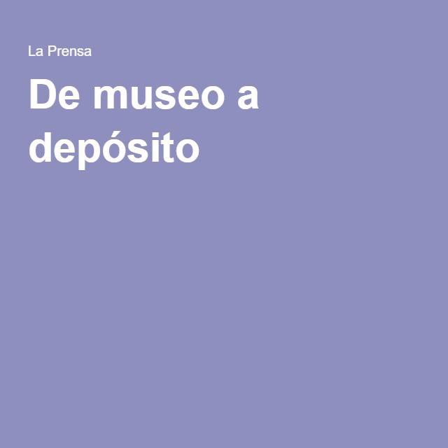De museo a depósito