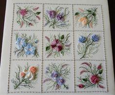Brazilian Embroidery - Bordado brasileiro conhecido como bordado Varicor surgiu por volta dos anos 60 inventado pela Sra. Elisa Hirsch Maia