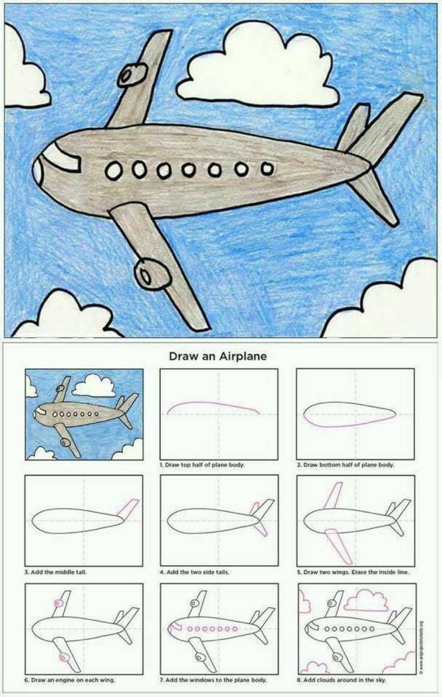 Simple Ways That Teaches You How To Draw Kids Art Projects