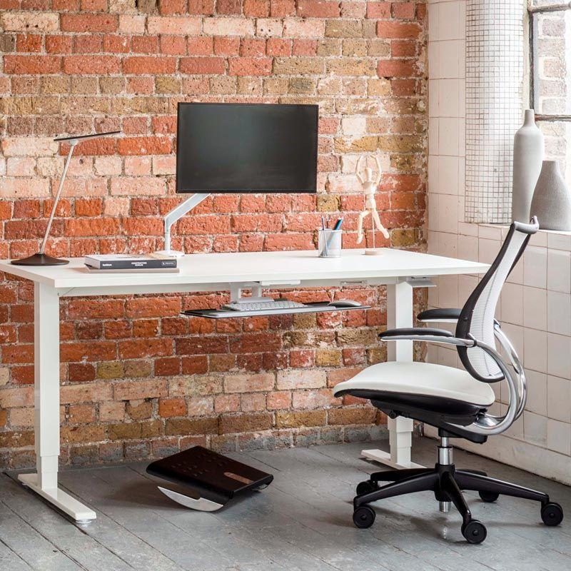 Height Adjustable Standing Desk Float Humanscale Adjustable Height Standing Desk Adjustable Standing Desk Standing Desk Design