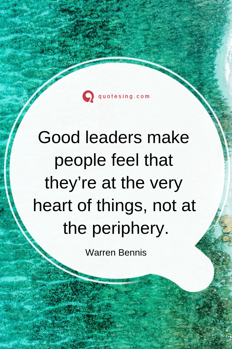 A Good Leadership Quote