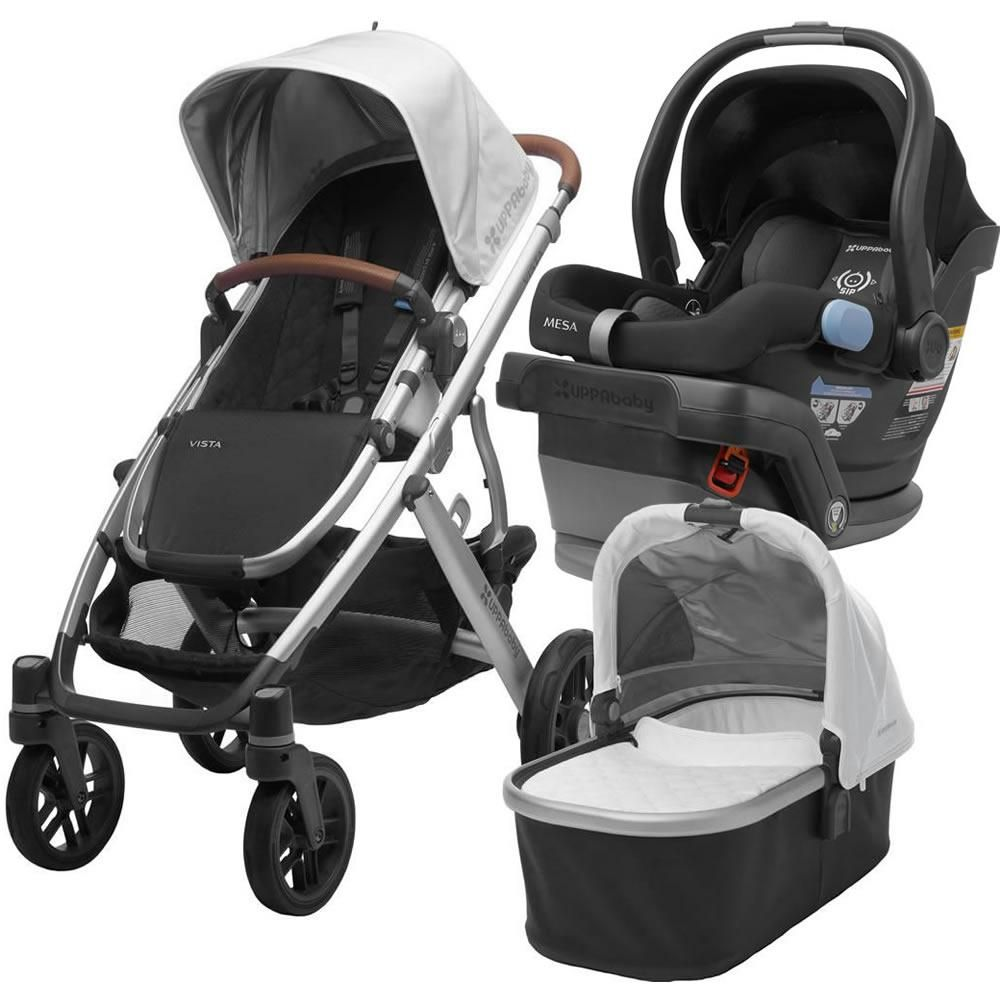 UPPAbaby 2018 Vista Stroller With Mesa Infant Car Seat