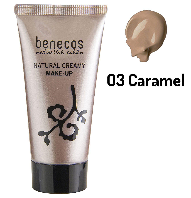 Benecos Natural Liquid Foundation Caramel 30ml * This is