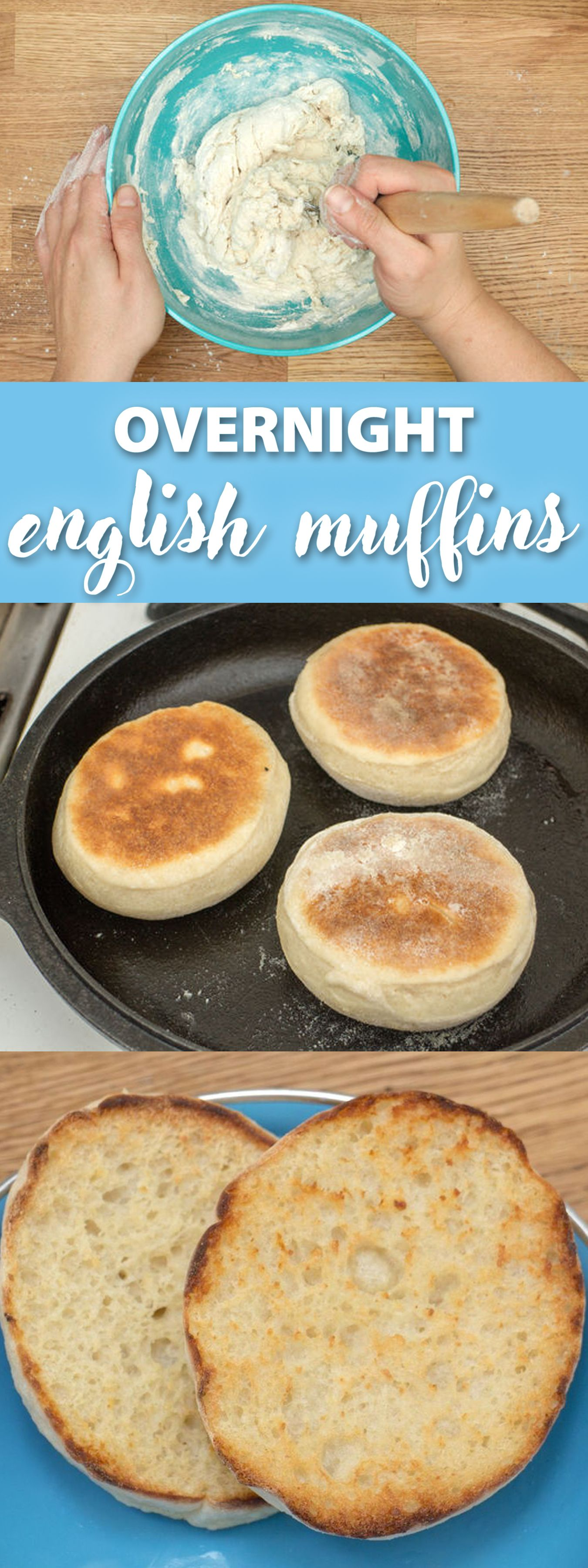 Easy overnight english muffin recipe food recipes and food ideas easy overnight english muffin recipe forumfinder Images