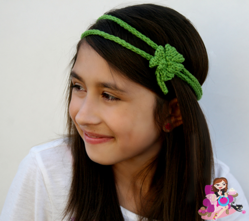 Shamrock Headband Loom Knitting Loom Knitting Patterns And