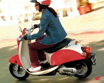 Honda Jazz Scooter - Red