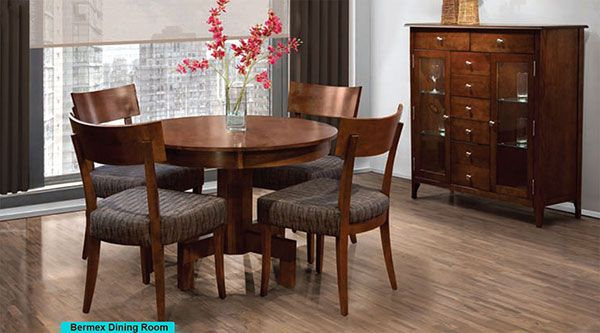 Bermex Round Table And Chairs