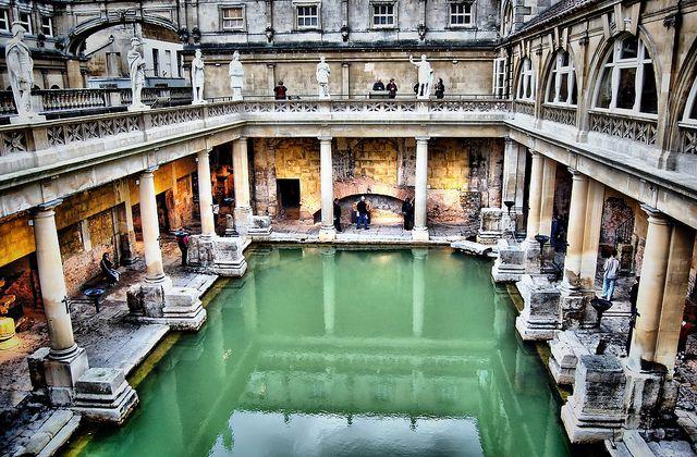The Roman Baths In Bath England Lugares Para Visitar Viajes