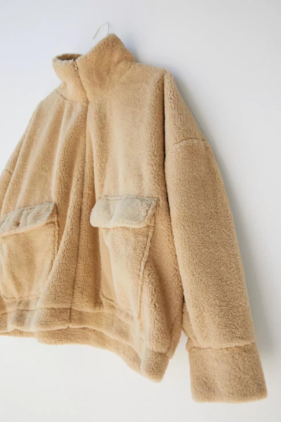 Uo Sheila Faux Fur Jacket Fur Jacket Faux Fur Jacket Jackets [ 1463 x 976 Pixel ]