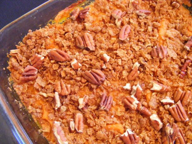 The Best Sweet Potato Casserole Recipe Food Com Recipe Sweet Potato Recipes Casserole Best Sweet Potato Casserole Potatoe Casserole Recipes