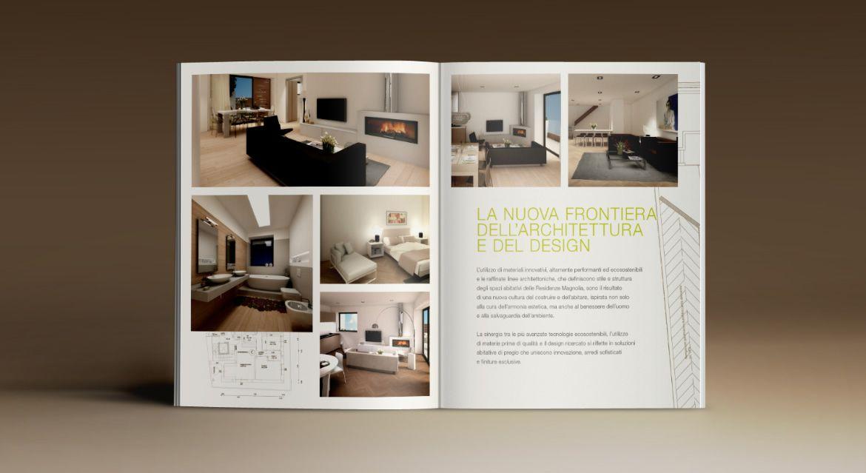 Realizzazione Brochure e Rendering Immobiliare Intervento Magnolia