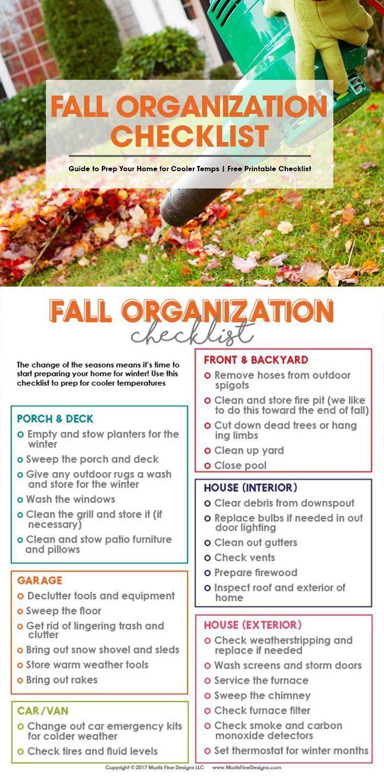 Photo of Checkliste für die Herbstorganisation   Kostenloser druckfähiger Download
