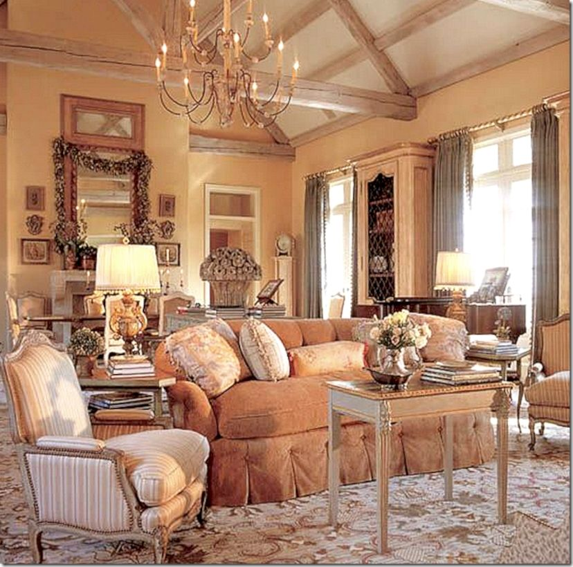 30 Adorable And Elegant French Country Decor