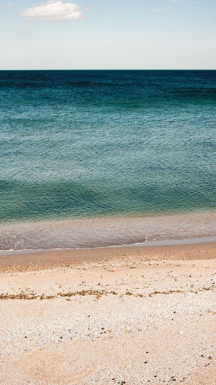 Ocean Sea Beach Green Water Wallpaper Hd Iphone Tapety