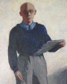 12/27- Birthday of Réne Georges Hermann-Paul, French painter,illustrator, 1864-1940. Self portrait