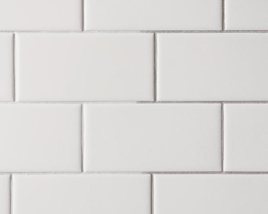 Checking Off The Backsplash White Brick Backsplash Grey Grout White Subway Tile Kitchen