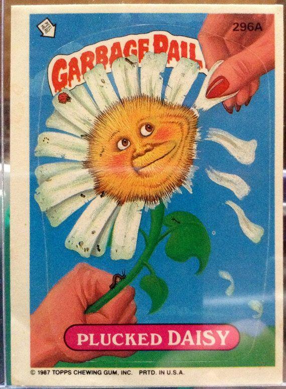 1987 Topps Garbage Pail Kids Trading Card 296a Etsy Garbage Pail Kids Garbage Pail Kids Cards Garbage