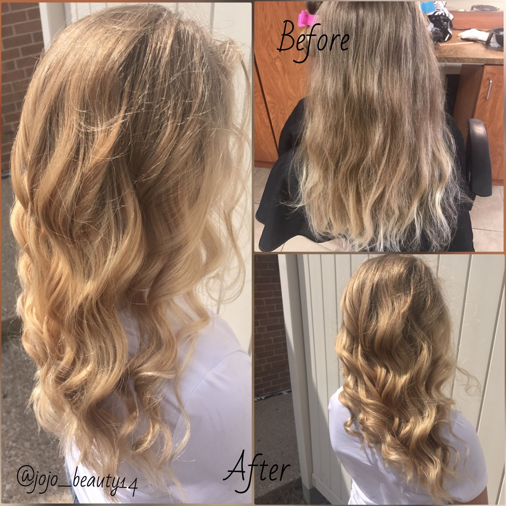 Color Correction From Splotchy Blondes To An All Over Natural Blonde