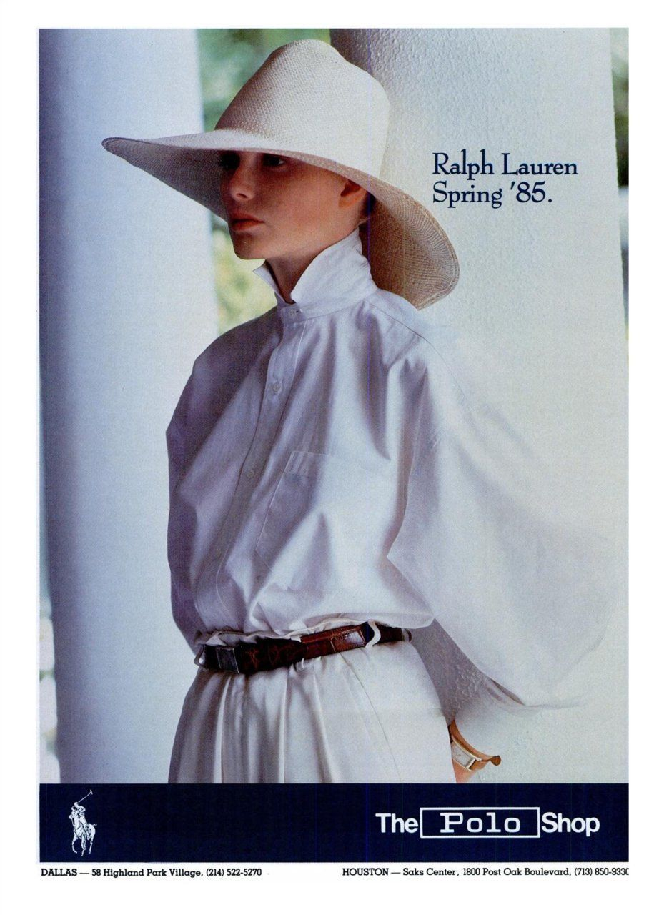 Old ralph lauren adverts u via malemodelretro victorian lady in