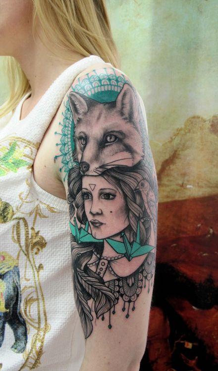 Paris Tattoo Eiffel Tower Tattoo Floral Shoulder Tattoo