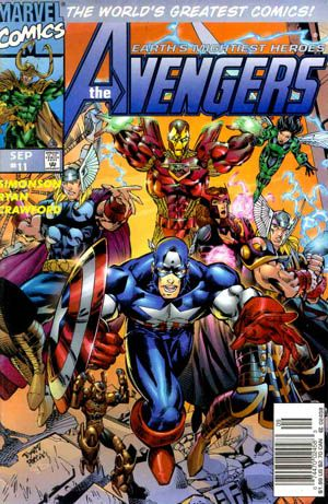 The Avengers 11 Marvel Comics Vol