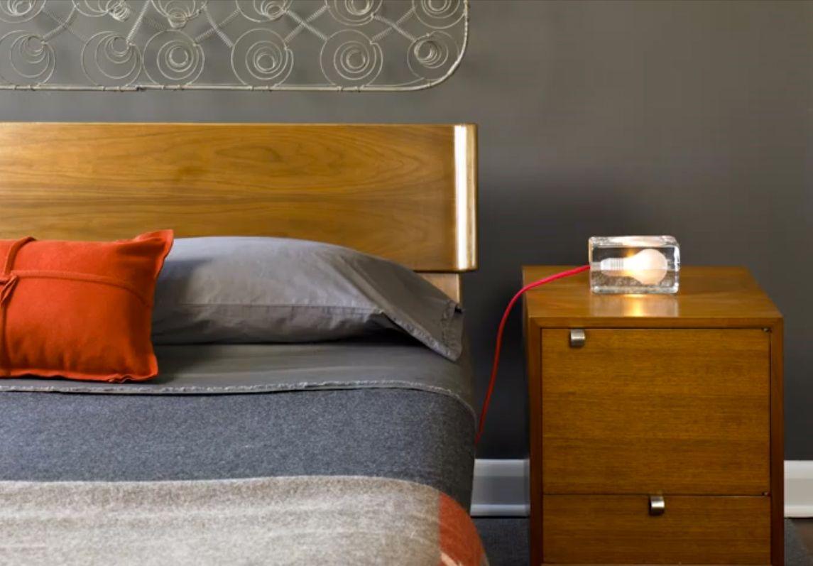 Bedroom: Block Lamp by Harri Koskinen for Design House Stockholm ...