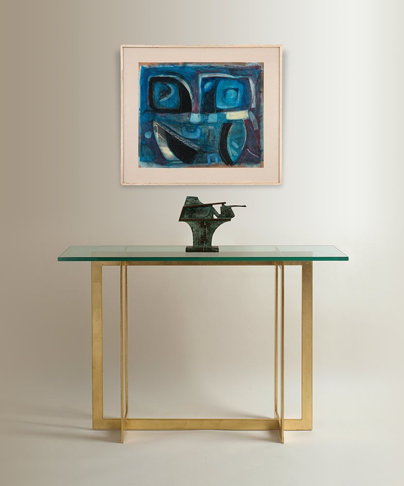 Bespoke handmade console tables adam williams design con metropolitan console table designed by adam williams bespoke art furniture geotapseo Images