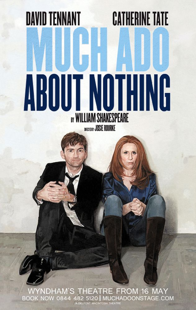 Much Ado About Nothing Chri Kasch Illustration David Tennant Movie Teaching Shakespeare Catherine Tate Complete Paraphrase Of