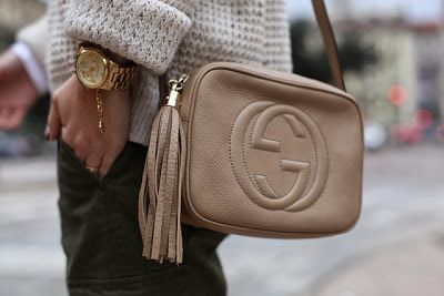 45cd03584f5 Gucci Soho Disco bag in Nude