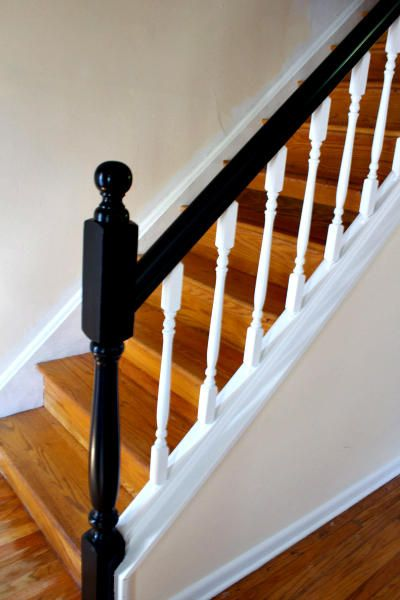 How To Update Railings And Spindles On Stairs Banister