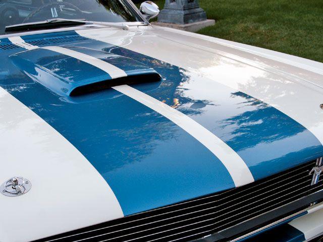 1966 Shelby GT350 hood