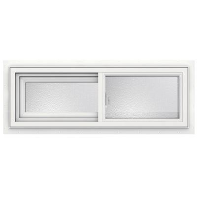 JELD WEN Windows U0026 Doors   3500 SERIES Vinyl Slider Window 36 Inch X 12