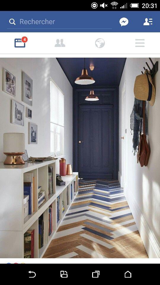Alterner les lames de parquet pour créer de la profondeur à la pièce